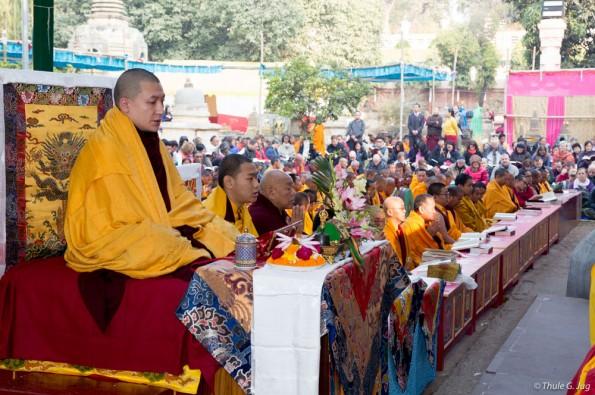 Kagyu-Monlam-in-Bodh-Gaya-with-Gyalwa-Karmapa-2015-First-day