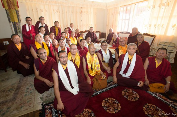 Kagyu-Monlam-in-Bodh-Gaya-with-Gyalwa-Karmapa-2015-Sixth-day