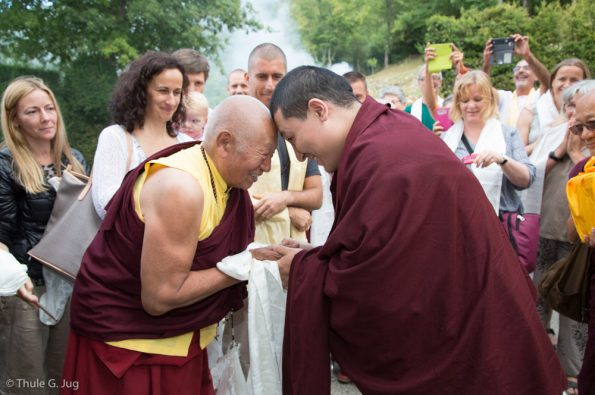 Karmapa-visits-Montchardon-2017-08-09-to-17.-Arrival-in-Lyon-and-Montchardon