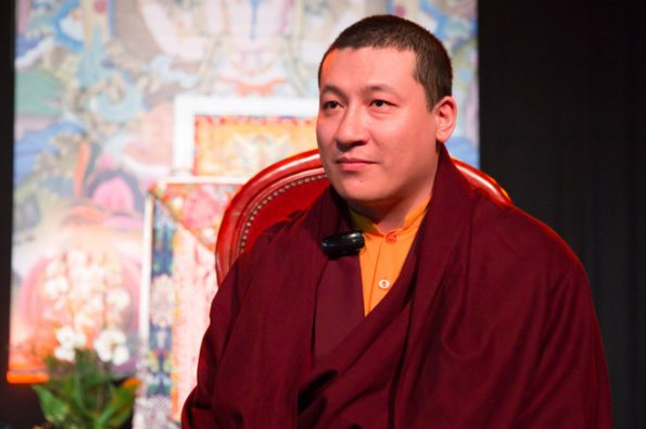 Karmapa-visits-Montchardon-2017-08-09-to-17.-Teachings-The-Way-of-the-Bodhisattvas