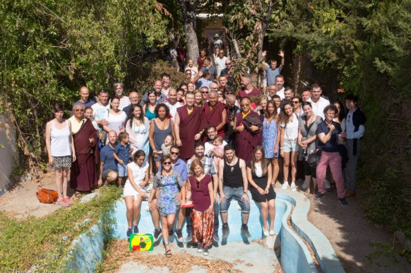 Karmapa-visits-Karma-Guen-2017-08-17-to-22.-Visit-of-a-new-Diamondway-Center-in-Granada