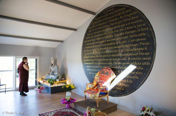 Karmapa-visits-Dhagpo-Kundreul-Ling-Le-Bost-2017-08-22-to-30.-Visit-of-Les-Grand-Terres-a-meditation-centre-near-Lyon