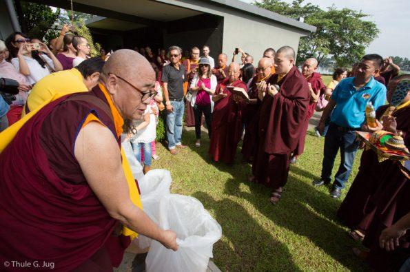 Gyalwa-Karmapa-visits-Kuching-September-26th-to-October-2nd-2017-Fish-Release-Ceremony