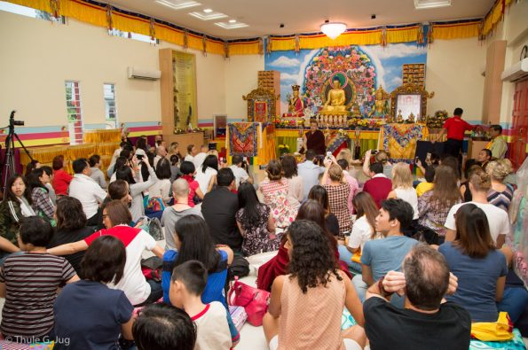 Gyalwa-Karmapa-visits-Kuching-September-26th-to-October-2nd-2017-Audiences-and-Teaching