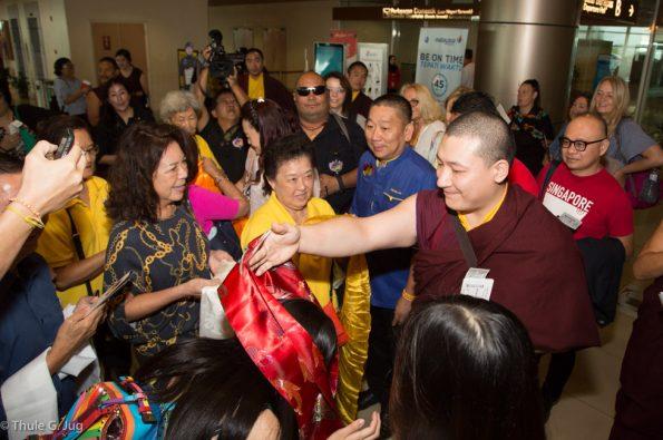 Gyalwa-Karmapa-visits-Kuching-September-26th-to-October-2nd-2017-Departure-to-Singapore