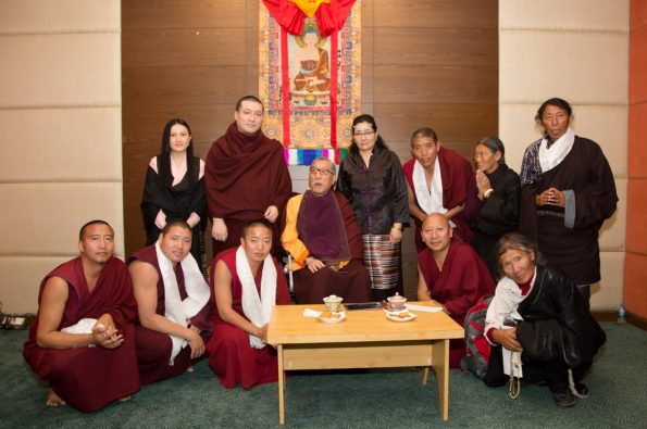 Gyalwa-Karmapa-in-Bodh-Gaya-Dec.-6-to-23-2017.-Audiences-with-Mipham-Rinpoche
