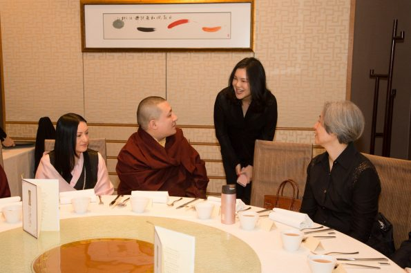 Karmapa-in-Hong-Kong-2018-03-31-to-04-09.-Lunch-with-Sponsors