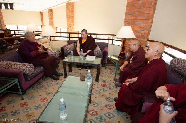 Karmapa-visits-Kathmandu-2018-12-03-to-07.-Meetings-and-Audiences
